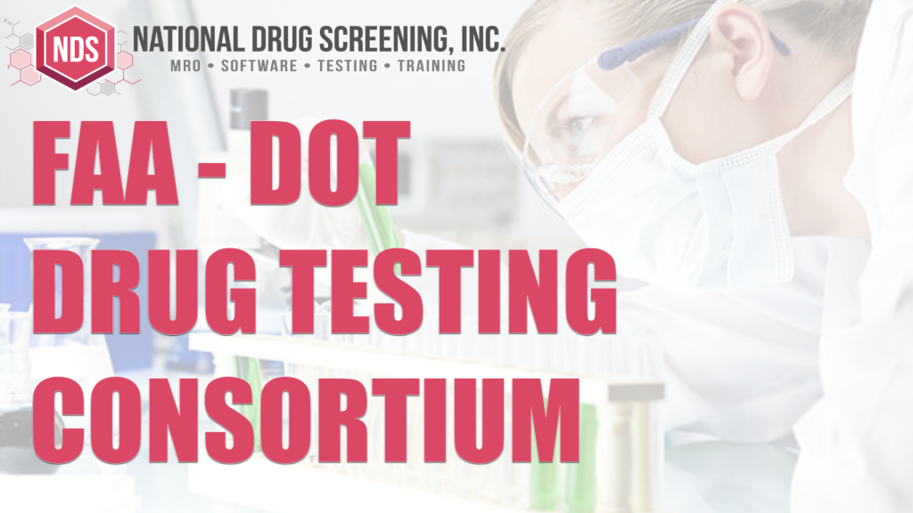 Video Blog - FAA Drug Testing – Consortium