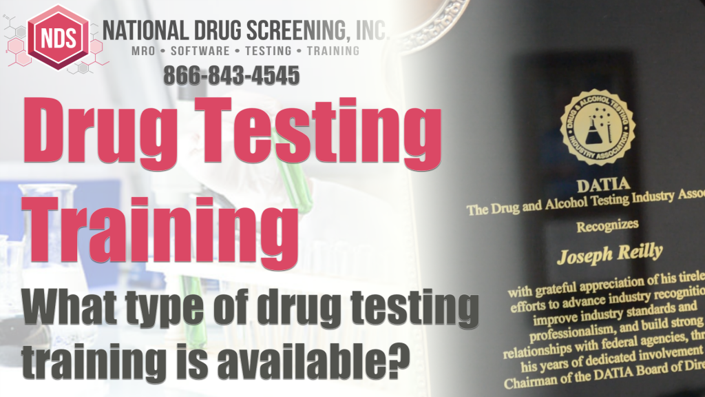 Drug and Alcohol Testing Training and Consulting