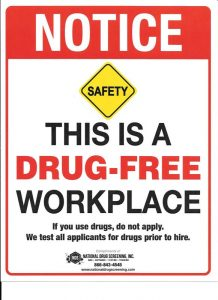 Drug Free Workplace – The Big Picture