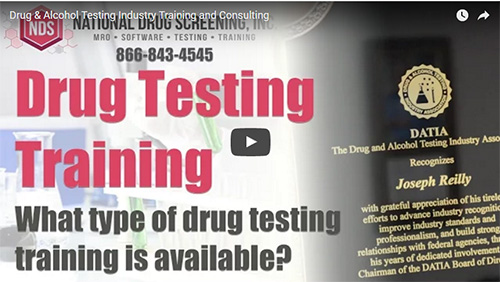 What type of drug testing training is available?