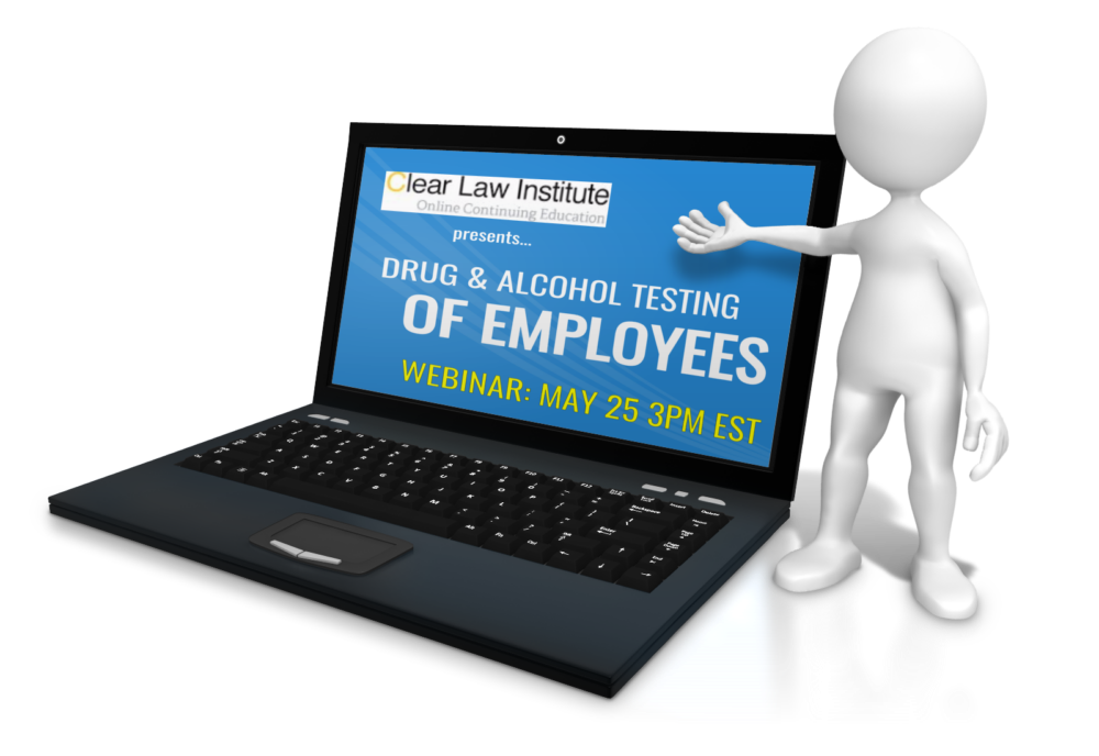 Joe Reilly to Present Drug and Alcohol Employee Testing Webinar
