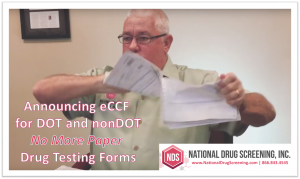 Video Blog : Announcing eCCF - NO More Paper Drug Testing Forms!