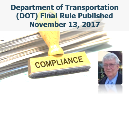 Analysis of the Department of Transportation (DOT) Final Rule Published November 13, 2017 PART II