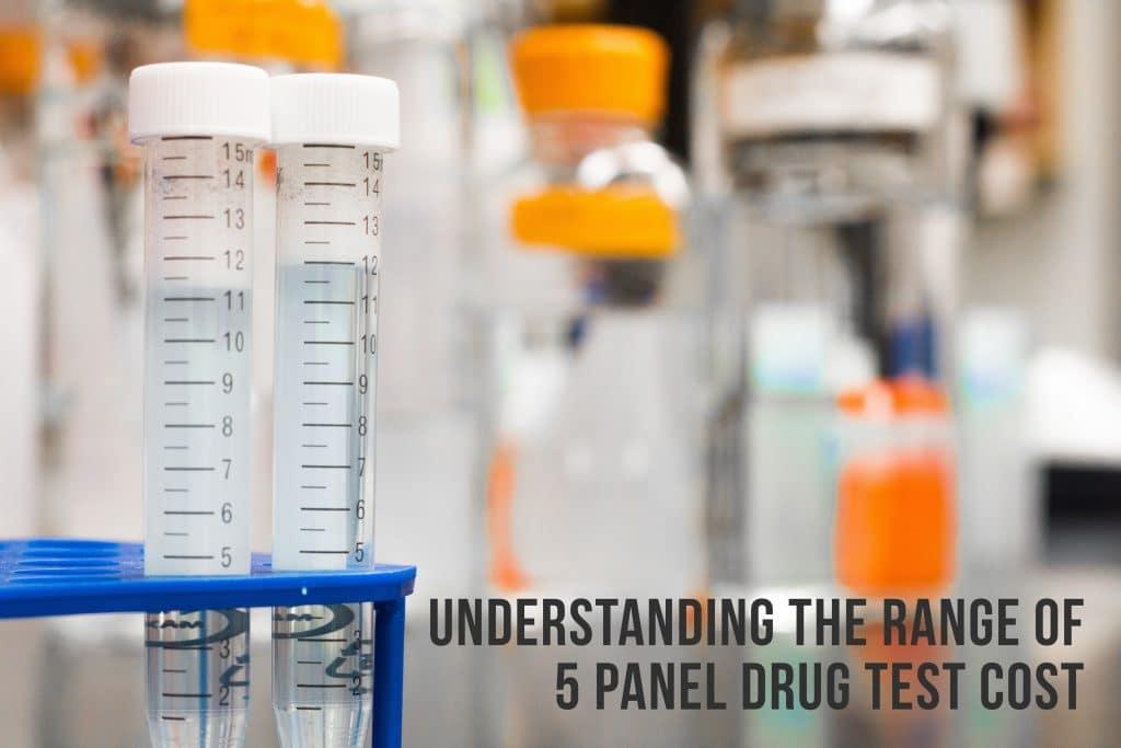 Understanding The Range Of 5 Panel Drug Test Cost
