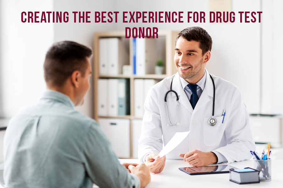 Creating The Best Experience For Drug Test Donors
