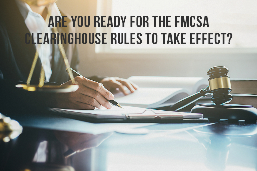 Are you ready for the FMCSA Clearinghouse