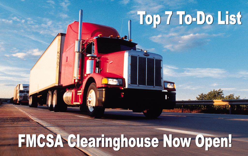 FMCSA Clearinghouse Ready for Employers - Top 7 To Do List: