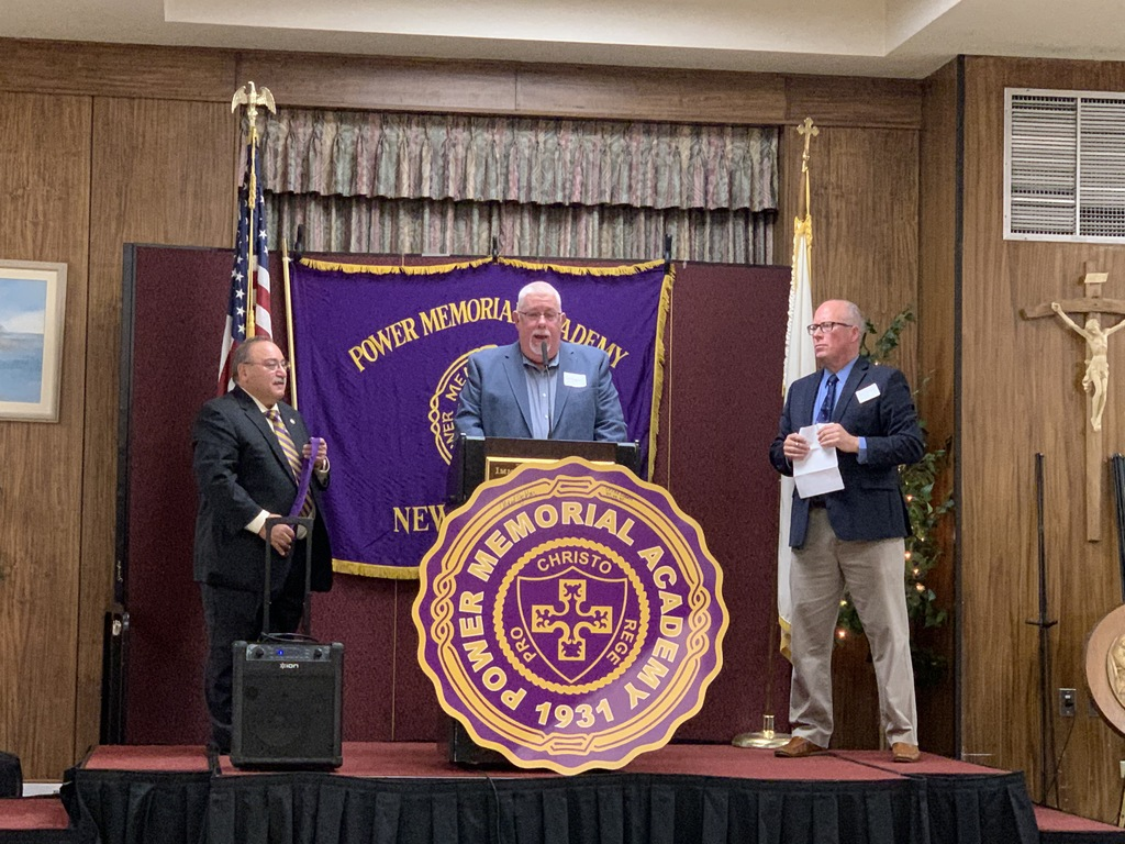 Joe Reilly Inducted into Power Memorial Academy Hall of Fame