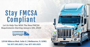 FMCSA Clearinghouse Announces Web Site Issues Corrected