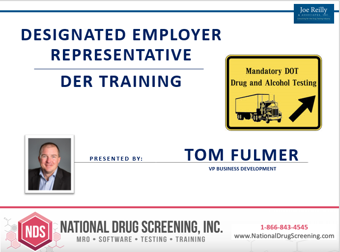 NDS Employers DER Training Program. Free Webinar April 23, 2020