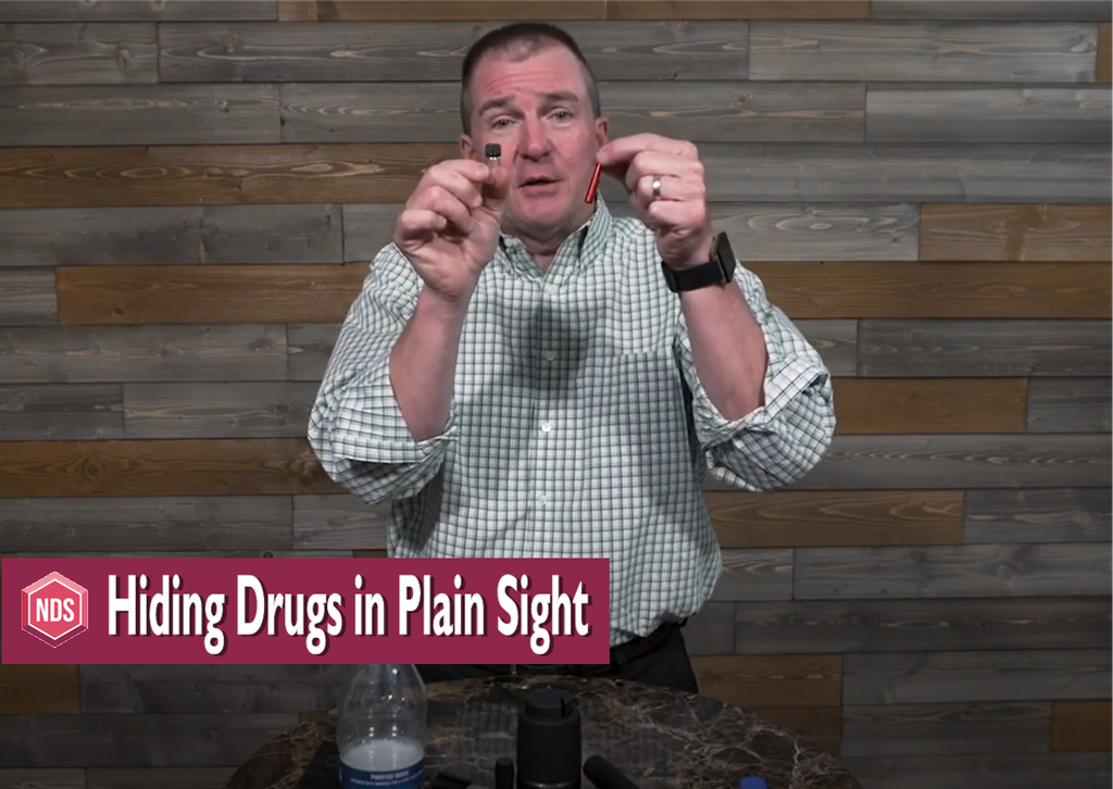 Video Blog: Drugs Stashed in Plain Sight