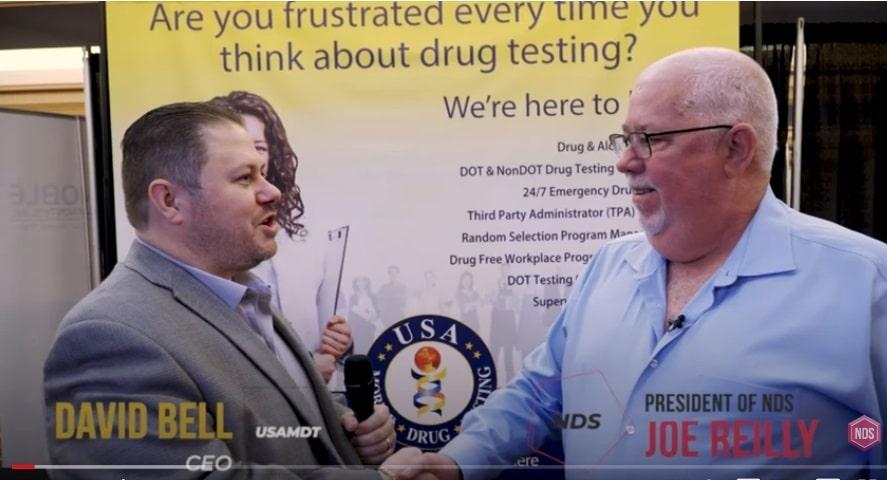 Joe Reilly with David Bell, USA Mobile Drug Testing – Video Blog