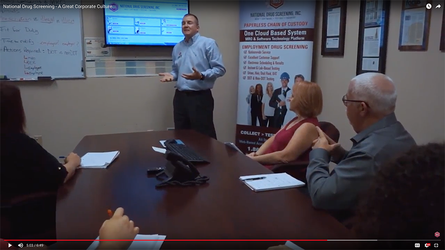 National Drug Screening Releases Corporate Overview Video