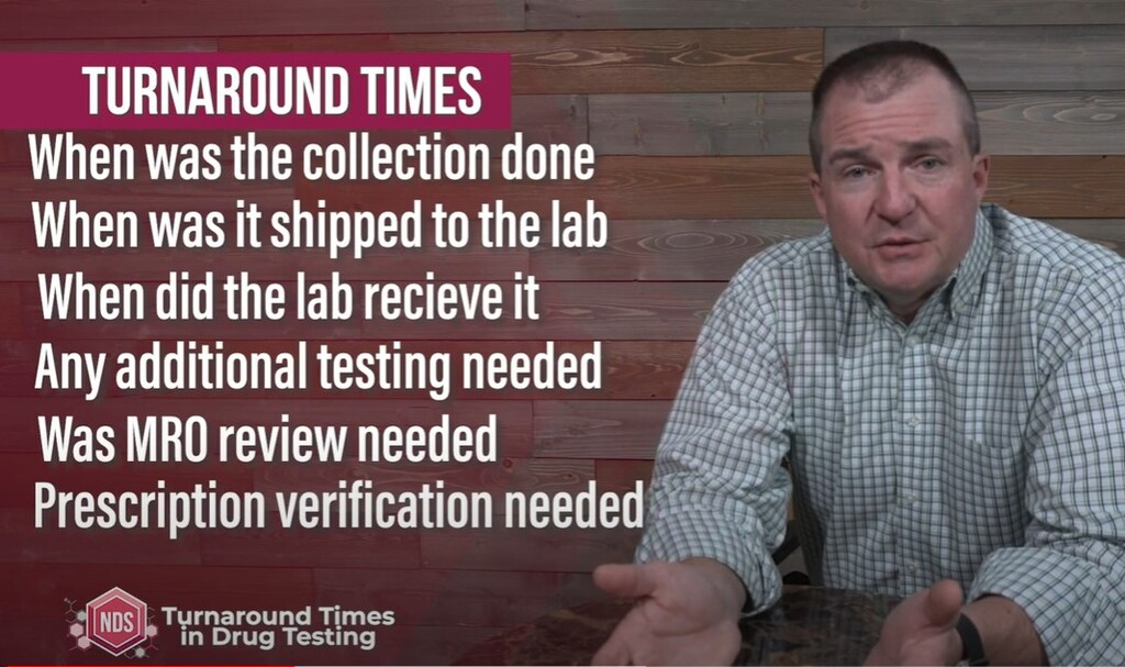 Video Blog: Turnaround Times For Drug Testing