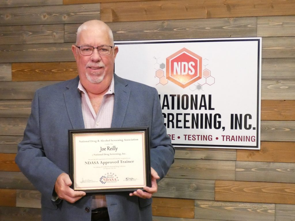 Joe Reilly Appointed As An NDASA approved trainer