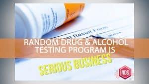 Random Drug Testing Guidelines