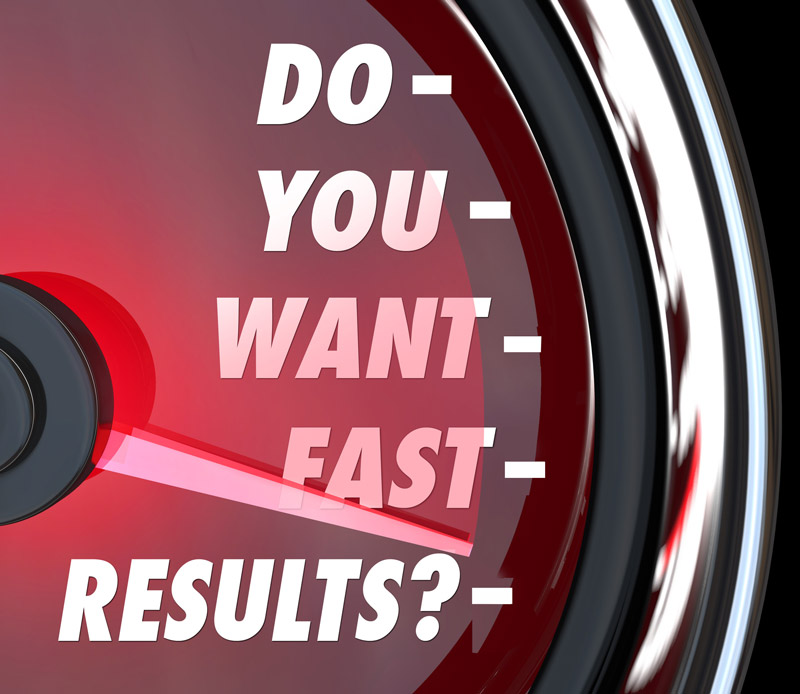Do you want fast results odometer
