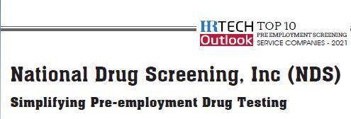 HR Tech National Drug Screening