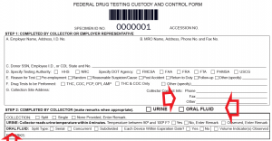New DOT CCF Form